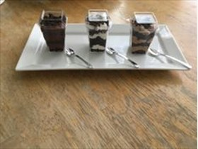 Coffee Mocha Brownie Mousse Cup